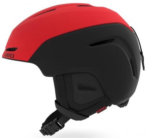 NEO Helmet 2020 matte black red/black