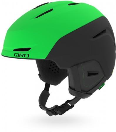 NEO JR Helm 2020 matte bright green