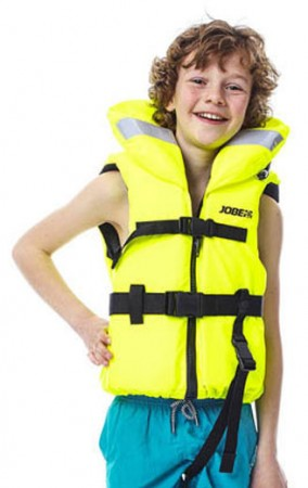 COMFORT BOATING YOUTH Weste 2020 yellow