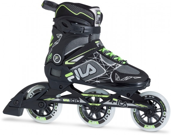 LEGACY PRO 100 LADY Inline Skate 2021 black/grey/watergreen