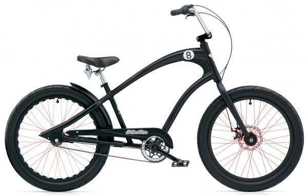 STRAIGHT 8 8i Bike black satin