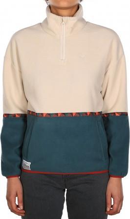 HOLINA Fleece Sweater 2022 dark teal