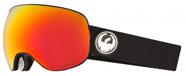 X1 Goggle 2020 black/lumalens red ionized + lumalens rose