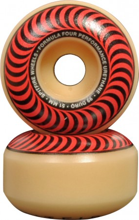 CLASSIC F4 51mm 4er Rollenset red