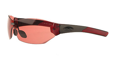 IRON SHIELD 2 Sunglasses blood red/flash red