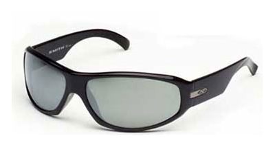 CAUSE Sunglasses black gloss/polar grey mirror