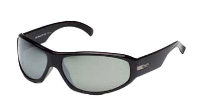CAUSE Sonnenbrille black gloss/polar grey mirror