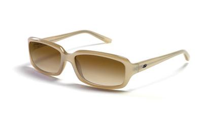 CHARM Sunglasses pearl gloss/brown shaded