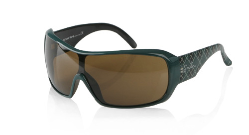 DOMINO Sonnenbrille green plaid gloss/brown