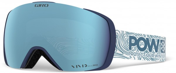 CONTACT Schneebrille 2019 protect our winters/vivid ember + vivid infrared