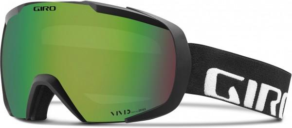 ONSET Schneebrille 2020 black wordmark/vivid emerald