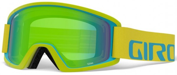 SEMI Goggle 2020 citron/iceberg apex/loden green + yellow
