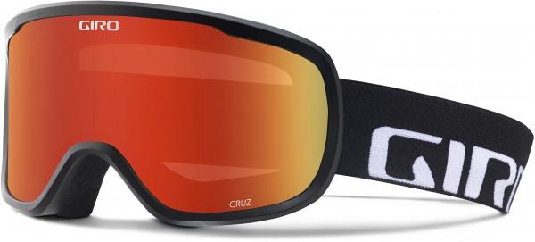 CRUZ Schneebrille 2020 black wordmark/amber scarlet
