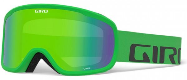 CRUZ Schneebrille 2021 bright green wordmark/loden green