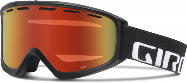 INDEX OTG Schneebrille 2020 black wordmark/amber scarlet
