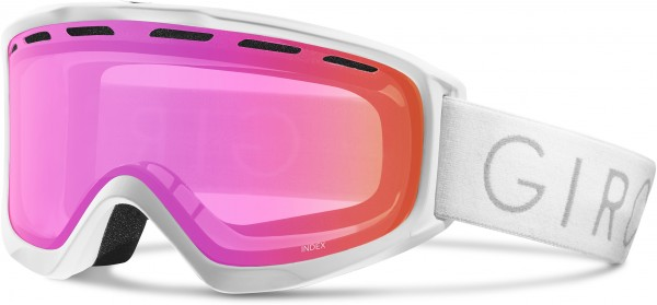INDEX OTG Goggle 2020 white core light/amber pink