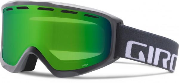 INDEX OTG Schneebrille 2020 titanium wordmark/loden green