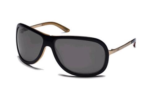 BELLAIRE Sunglasses black gold/grey