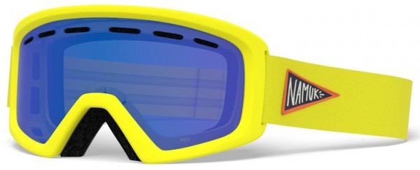 REV Schneebrille 2020 namuk yellow/grey cobalt