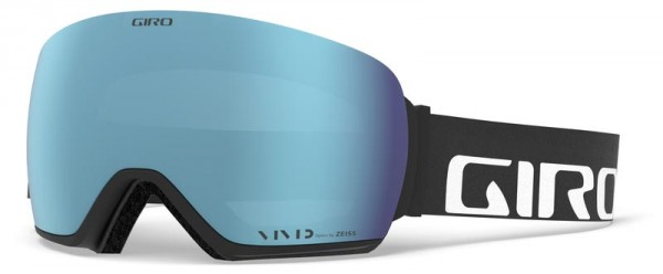 ARTICLE Schneebrille 2020 black wordmark/vivid royal + vivid infrared