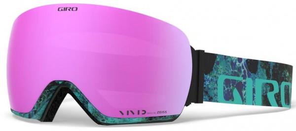 LUSI Schneebrille 2020 rockpool/vivid pink + vivid infrared