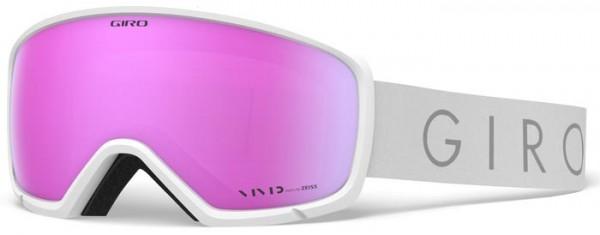 RINGO Schneebrille 2020 white core light/vivid pink