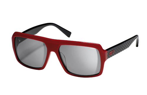 BREAKBEAT Sunglasses red black/grey