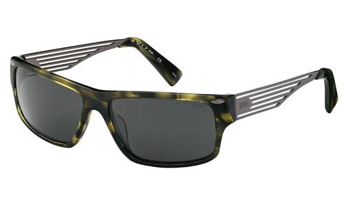 EDITOR Sunglasses havana green dark ruthenium/brown