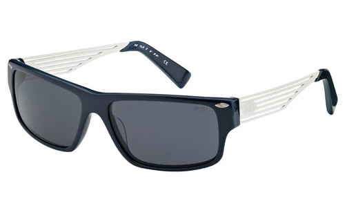 EDITOR Sunglasses blue avio ivory/grey