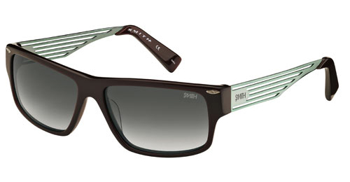 EDITOR Sunglasses matte burgundy green/grey
