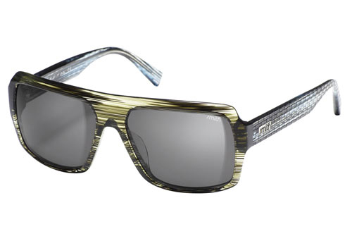 BREAKBEAT Sonnenbrille black yellow green/grey