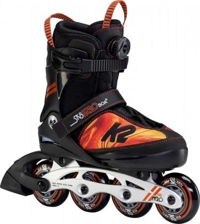 SK8 HERO BOA ALU Inline Skate 2021 black/orange