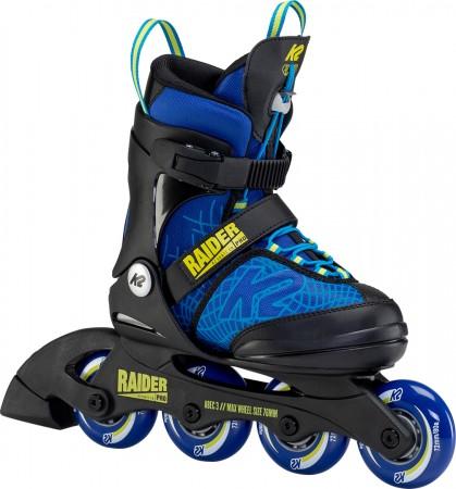 RAIDER PRO TEST Inline Skate 2021 blue/yellow
