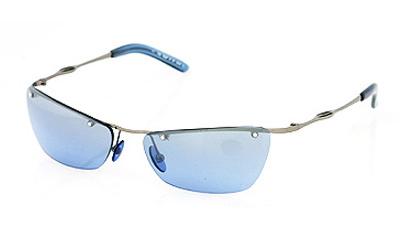 VIRTUE Sunglasses chrome/blue gradient mirror