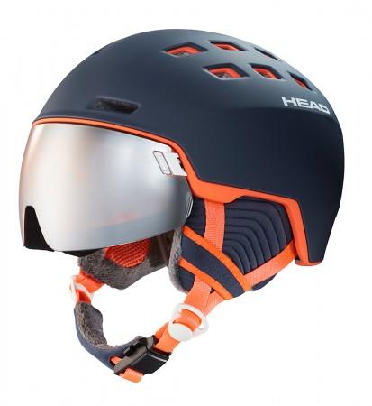 RACHEL Helmet 2020 blue/salmon