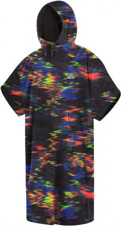 VELOUR Poncho 2021 rainbow