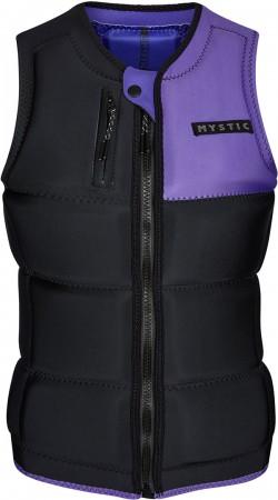 DAZZLED WOMEN Weste 2021 black/purple