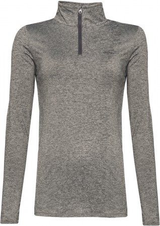 FABRIZM 1/4 Zip Fleece 2021 dark grey melee