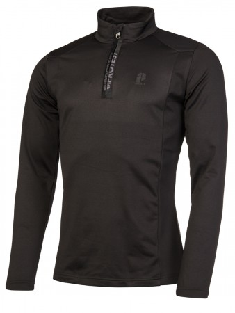 WILLOWY 1/4 ZIP Fleece 2020 true black