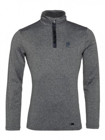 WILLOWY 1/4 ZIP Fleece 2020 dark grey melee
