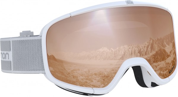 FOUR SEVEN ACCESS Schneebrille 2020 white/tonic orange universal
