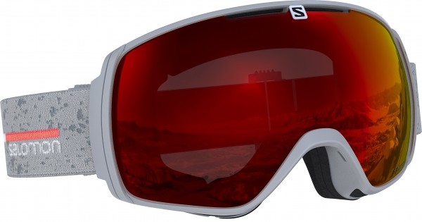 XT ONE Goggle 2019 grey matte/mid red universal