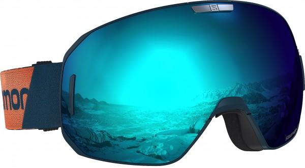 S/MAX Schneebrille 2020 moroccan blue/blue solar