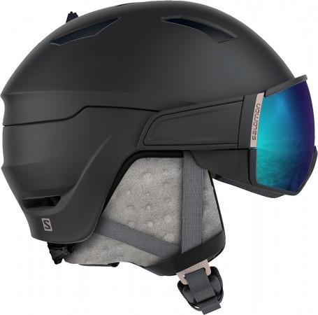 MIRAGE S Helm 2020 black/rose gold/universal