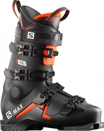 S/MAX 100 Ski Schuh 2019 black/orange/white