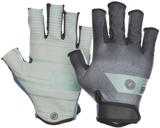 AMARA HALF FINGER Handschuh 2021 black