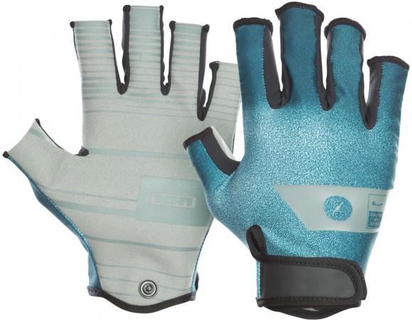 AMARA HALF FINGER Handschuh 2021 teal