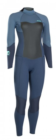 JEWEL ELEMENT SEMIDRY 4/3 BACK ZIP Full Suit 2019 slate blue