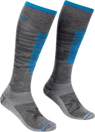 SKI COMPRESSION LONG Socken 2022 grey blend