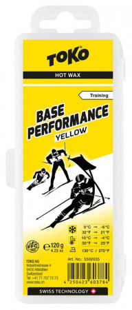 BASE PERFORMANCE Wachs yellow